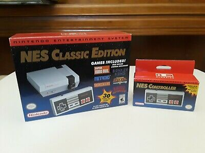 Nintendo Entertainment System NES Mini Classic Edition + Controller Brand New
