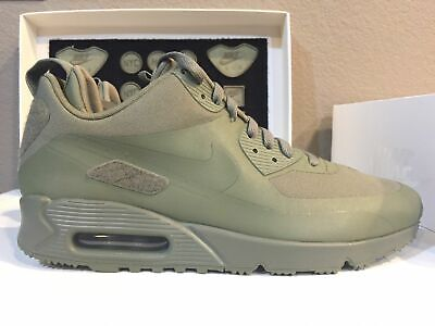 0a1d33c805 Nike Air Max 90 Sneakerboot SP Patch Steel Green [704570-300] Size 10.5