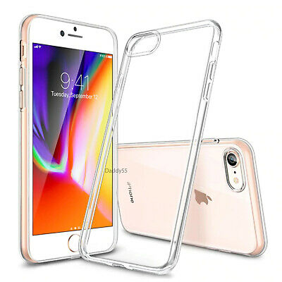 For iPhone 6S & 6 Case Shock Proof Clear Soft Silicone Gel Bumper Cover Slim