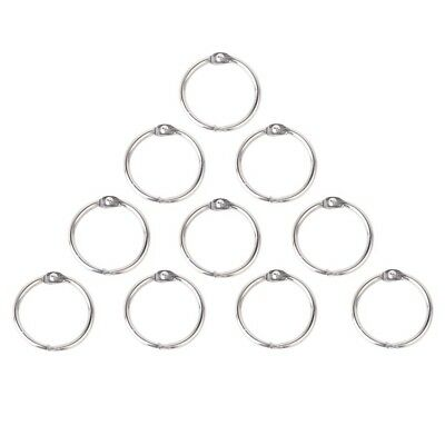 10 x Clamp Rings for Scrapbooks Albums - 30mm F3E4