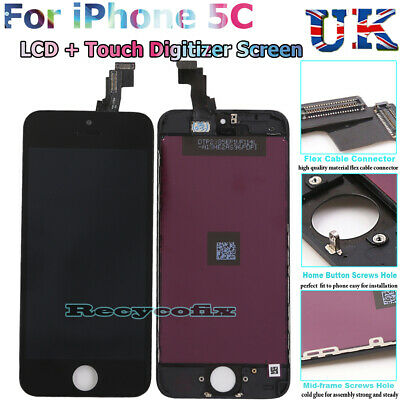 For Apple iPhone 5C LCD Screen Replacement Display Touch Digitizer Glass Black
