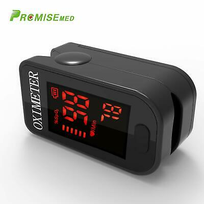 Finger Pulse Oximeter Blood Oxygen Saturation Monitor Heart Rate LED Display New