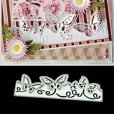 Butterfly Lace DIY Metal Cutting Dies Stencil Scrapbooking Photo Album Decor