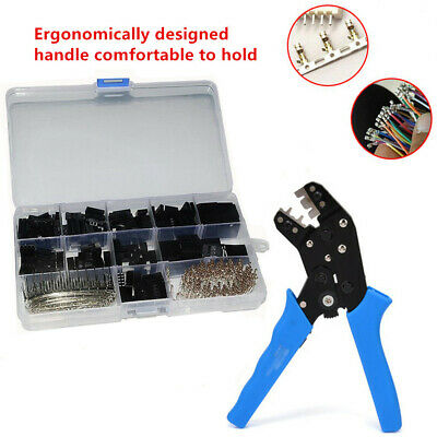 620Pcs 2.54mm Wire Jumper Housing Connector Type Terminal Crimping Tool Handle