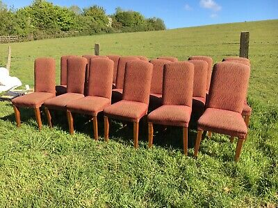 18 Upholstered Restaurant Chairs (Cafe / Bar / Bistro / Pub Chairs)