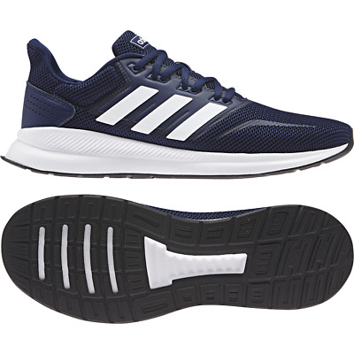 aacca4f9ac Adidas Men Running Shoes Running Runfalcon Training Workout Blue Gym F36201  New