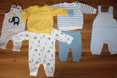 M&S Mothercare boys bundle up to 1 month *I'll combine postage*(38)