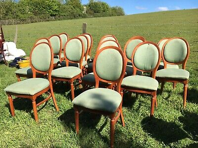 16 Balloon Back Restaurant Dining Chairs (Cafe / Bar / Bistro / Pub Chairs)