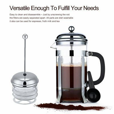 32oz Double Wall Stainless Steel French Press Coffee Maker By Utopia Kitchen MX