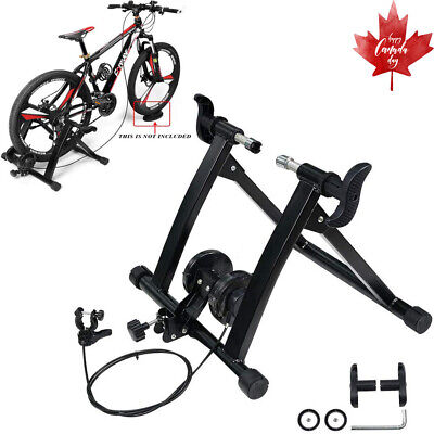 Indoor Bike Trainer Stand Portable Steel Bicycle Exercise Magnetic Stand