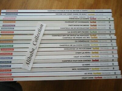 Lot 20 Bd ** Garfield ** Serie Dargaud Tbe Jim Davis
