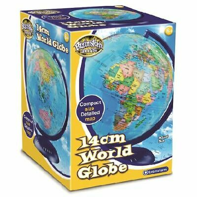 14cm World Globe - Brand New & Sealed