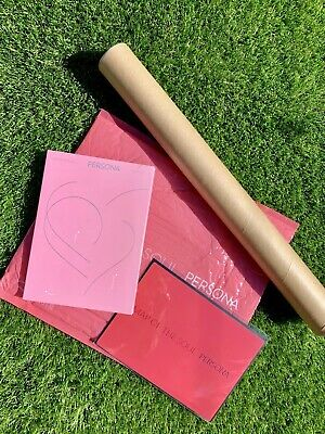 NEW BTS MAP OF SOUL: PERSONA ALBUM SEALED VERSION 1 with POSTER and Bookmark
