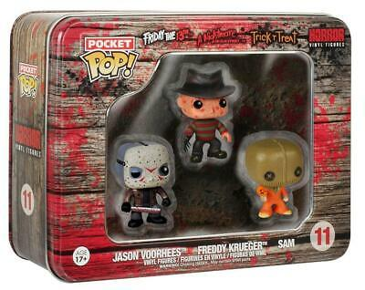 Funko Pocket POP! Freddy Krueger Jason Voorhees Sam Horror Vinyl Figures