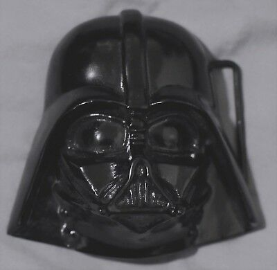 Darth Vader Lucasfilm Star wars 3D metal belt buckle, Trade mark 2005