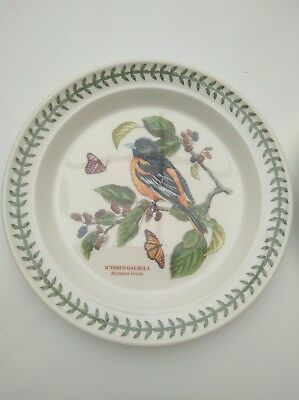 Portmeirion Botanic Garden Birds Dinner Plate - Brand New