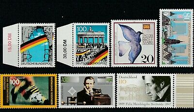 Germany - 1 X Set - 5 X Singles - Selection Of Stamps - Um / Mnh