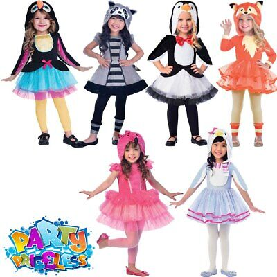 c559fa80d668 Child Zoo Animal Tutu Dress Costume Girls Book Day Week Cute Fancy Dress  Outfit