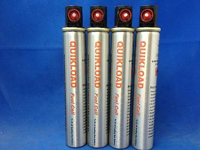 4 Quikload Fuel Cells For Paslode Im350 Gas Nailers Great Price