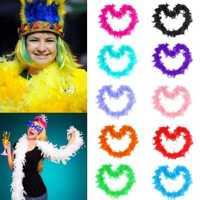 2m Craft Wedding Supplies Feather Party Decor Boa Fluffy Flower Costume Dressup