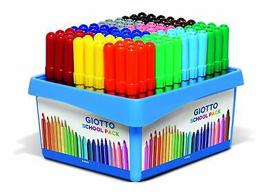 Giotto- Turbo Maxi Schoolpack 108 pz Colori Assortiti 524000 (3on)