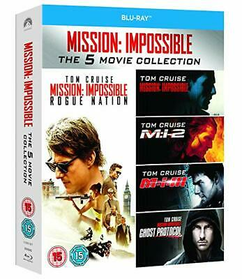Mission Impossible 1-5 - 5 Movie Collection Blu-Ray BRAND NEW Free Ship