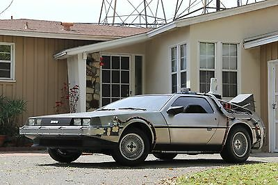 Back To The Future Delorean Time Machine Conversion to your Delorean - BTTF