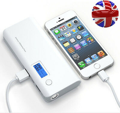 100000mAh 2USB External Power Bank Portable Battery Charger For Mobile Phone New