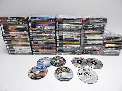 Sony PlayStation, PS2, PS3, and PSP Game Lot 90+ Games