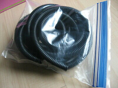 "3/8"" x 10ft Split Wire Conduit Flexible Protective Wire Wrap Black 10mm x 3m"