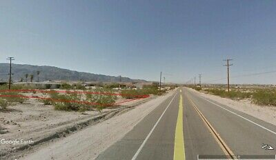 Highway Frontage 0.23 Acre City Lot - 29 Palms California