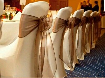 **HIRE**Ivory Spandex Chairs, Sashes & Runners
