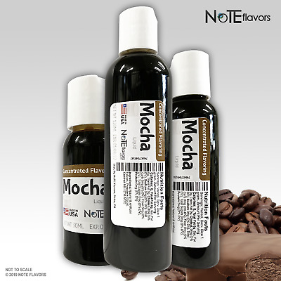 Liquid Mocha - 10-120mL Food Grade DIY Juice Flavor Drops Coffee Concentrate