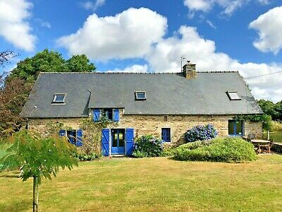 Holiday cottage/gite nr Josselin, Brittany, France, 4 nights Aug/Sep 2019