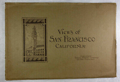 USA antik 1921 Album mit Fotografie VIEWS of SAN FRANCISCO - CALIFORNIA america
