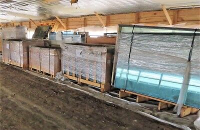 BRONZE Glass Panels, Insulated & Tempered - New Surplus (692 Sq-Ft LOT)