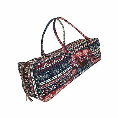 842bdc9055 Sports & Outdoors Kindfolk Yoga Mat Duffle Bag Extra Large XL Patterned  Canvas with Pocket and ...