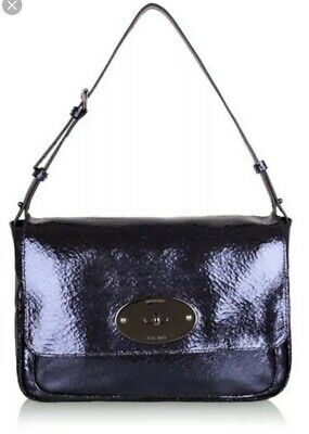 mulberry bayswater Cracked Leather Bag
