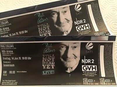 2 Tickets Phil Collins Hannover Freitag, 14.06.19, 19.00 Uhr