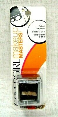 Covergirl MAKEUP MASTERS 3 In 1 Perfect Point Sharpener Pencil NEW IN PACKAGE!!