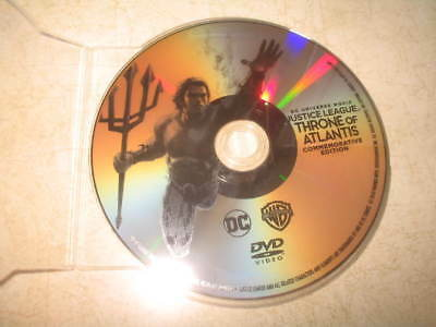 DCU Justice League: Throne of Atlantis (DVD, 2015, Canadian) **DVD ONLY**READ**
