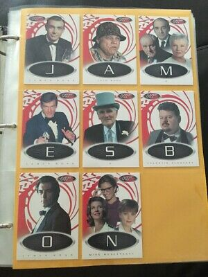 James Bond 40th Anniversary Letter Inserts