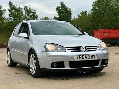 2004 VOLKSWAGEN GOLF GT TDI HATCHBACK DIESEL MANUAL 2000cc