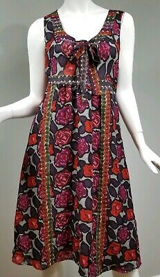 5363bc9f591b Plenty by Tracy Reese Women's Floral Dress Size 8 Sleeveless Silk-Blend  Lined