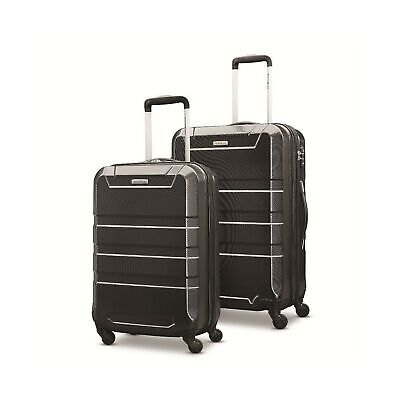 "Samsonite Invoke 2 Piece Nested Hardside Set (20""/24""), Black"