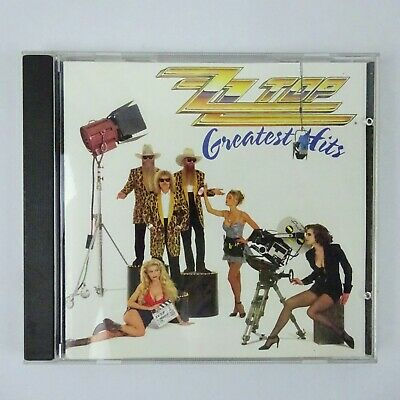 ZZ Top Greatest Hits CD 1992 Warner Brothers Records