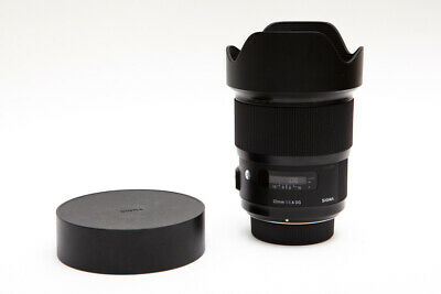 Sigma 20mm 20 f/1.4 f1.4 DG ART HSM for Nikon AF - Clean & Sharp! (USA)