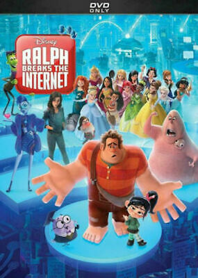 Ralph Breaks The Internet (Wreck It Ralph 2) DVD New comes with Slipcover