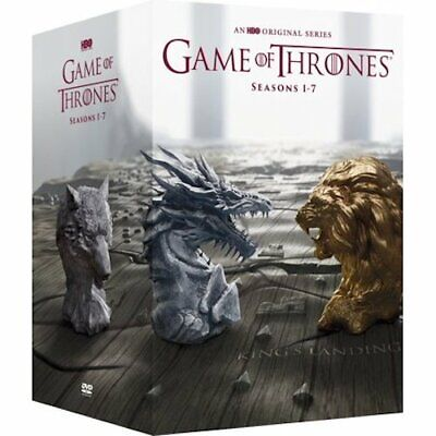 Game of Thrones:The Complete Seasons 1-7 DVD 34 Disc Box Set Free Shipping NEW