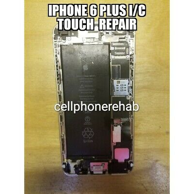 Repair Service For iPhone 6 Plus Touch IC Disease no touch and grey bars Repair